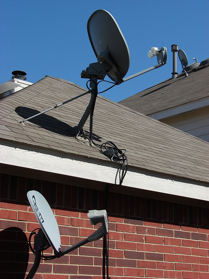 How can you save on your satellite television service? ... photo by CC user Loadmaster  on wikimedia