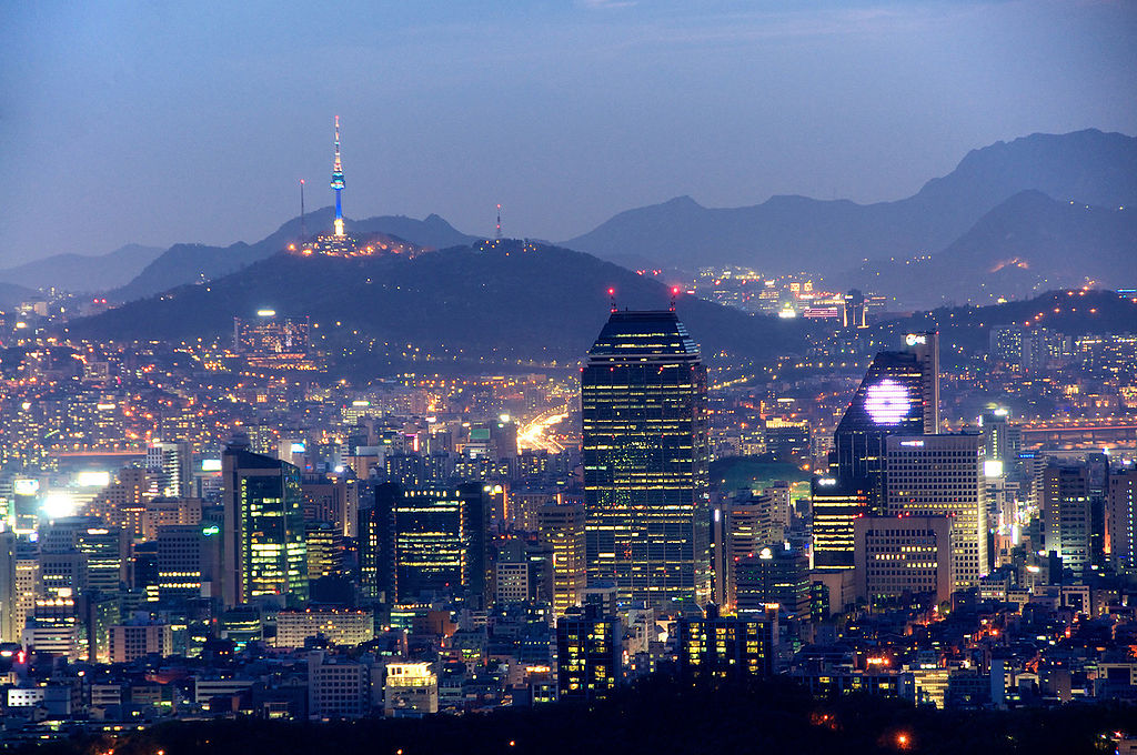 Looking down at it on a fine evening, it's easy to understand that there are many best places to visit in Seoul ... photo by CC user Larry Koester on Flickr