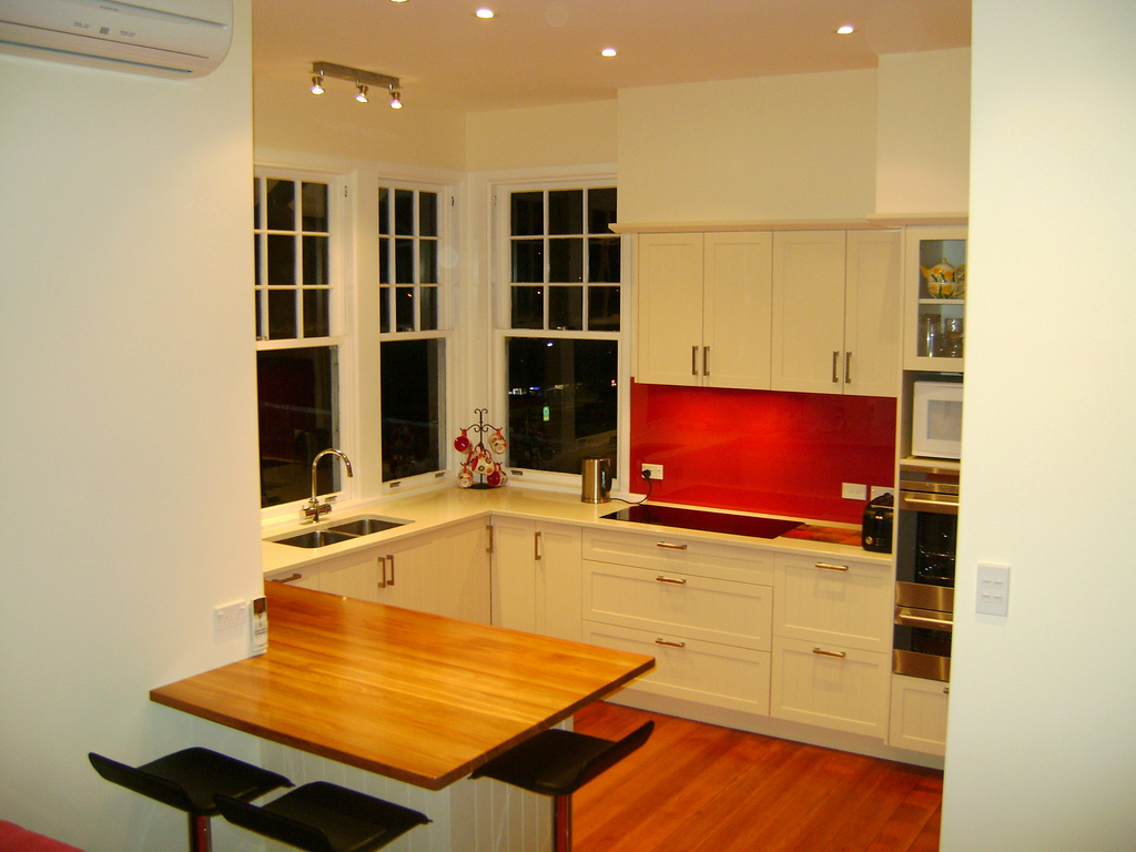 A tastefully redone kitchen are one of many types of home renovations that add valuephoto by CC user Grant McLean on Flickr