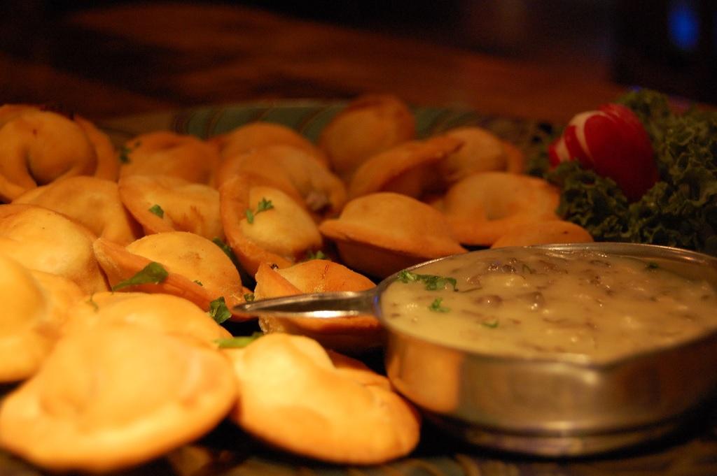 Pierogies are a great way to kick off a foodie weekend in St. Petersburg