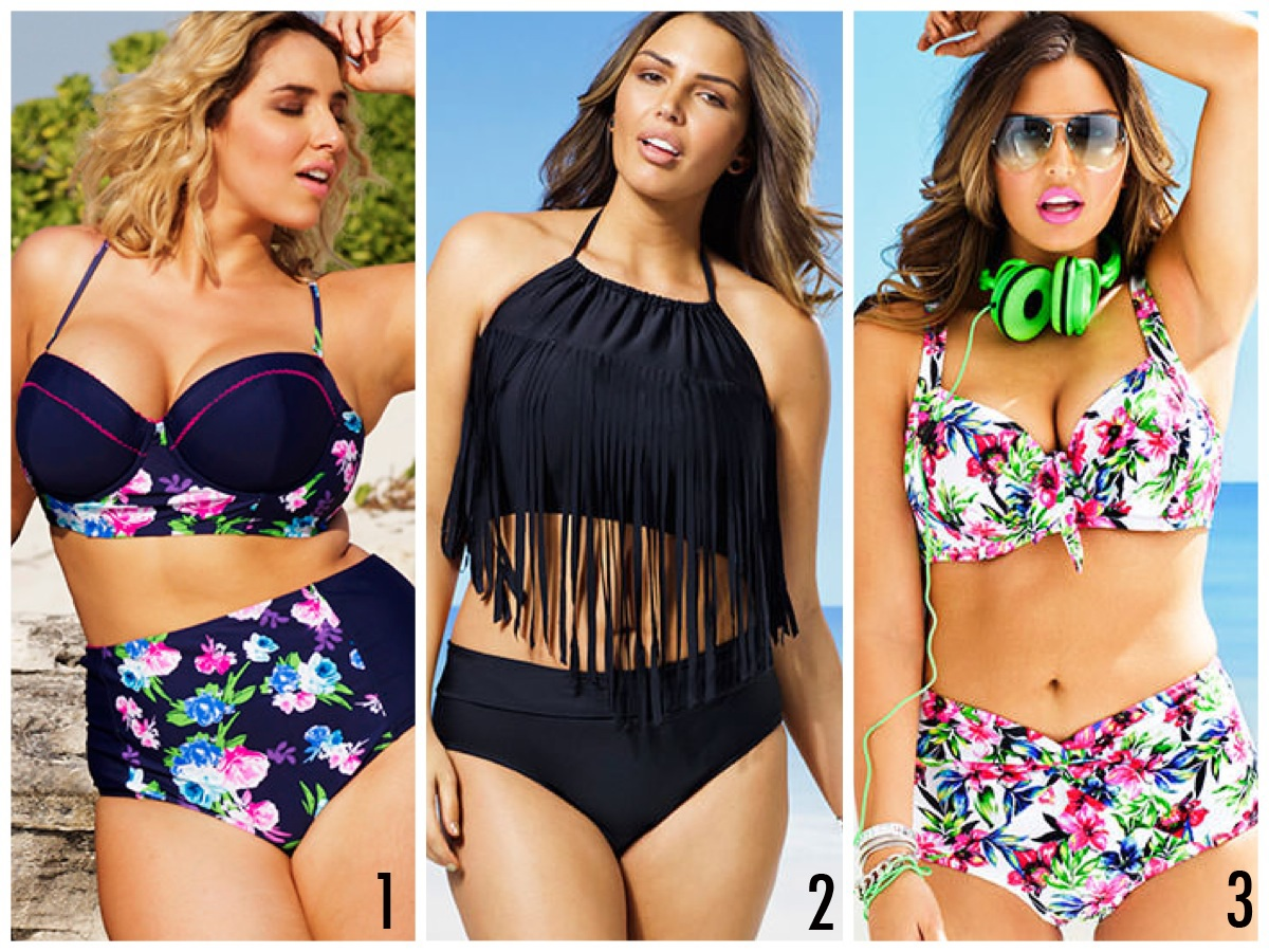 A Plus Size Swimsuit is much more stylish these days
