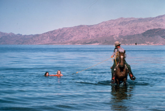 ranger-helping-people-out-of-water-lake-mead-nevada