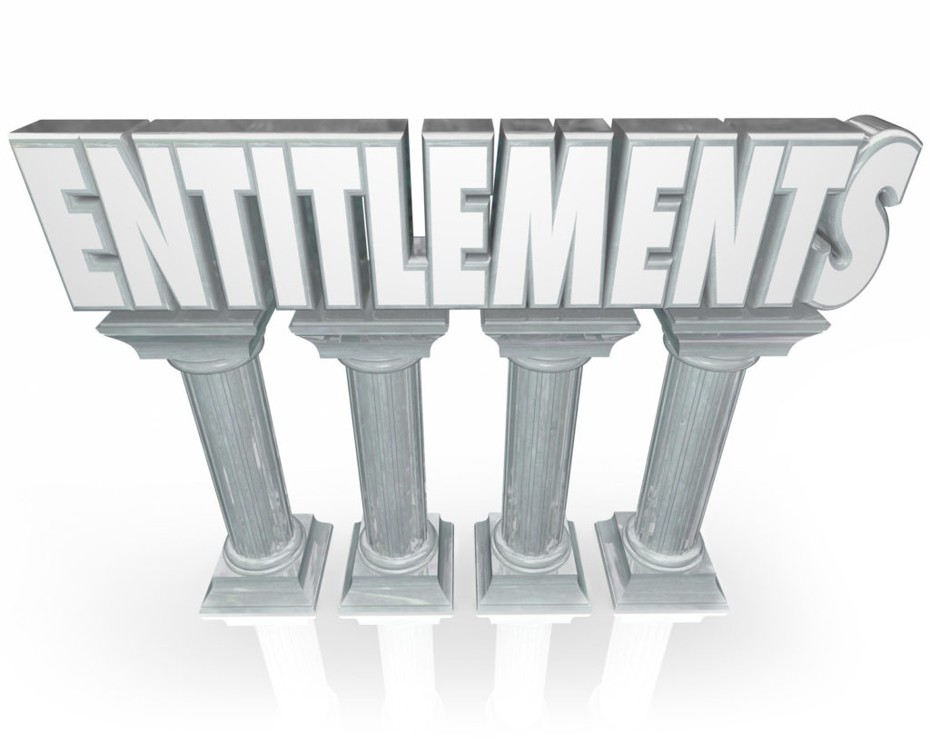 The Age Of Entitlement is upon us: are they good or bad for society?