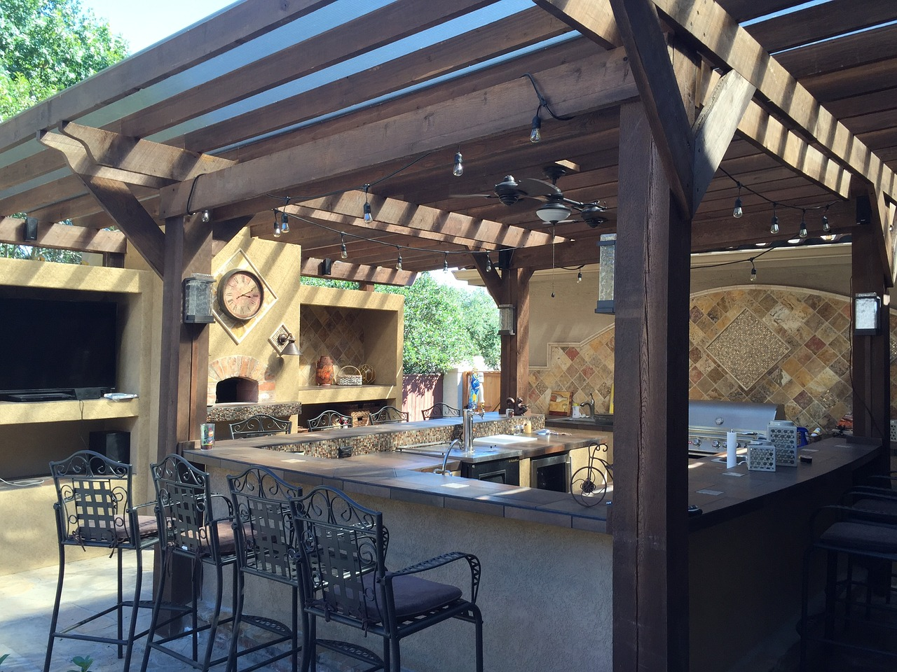 An outdoor kitchen can Add Value to your Home