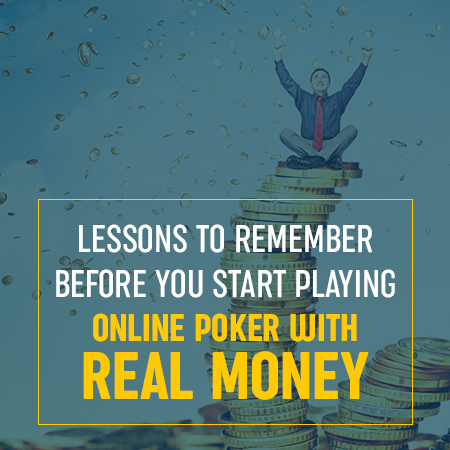 Playing Poker with Real Money